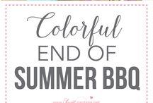 My Summer Bday BBQ