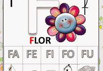 Alfabeto e sílabas