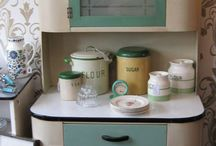 The Orchard: 1940's Kitchen Style: Shabby Chic Vintage