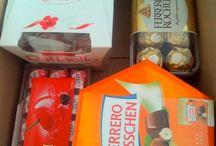 Basteln mit Ferrero