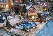 kerstdorp maken