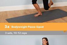 Lichaamsgewicht Workouts