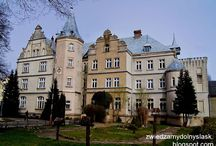 Zamki  ,pałace , dwory polskie / Dolny Śląsk, pałace,dwory , dworki