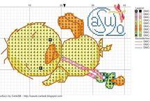 Cross Stitch - Ducks