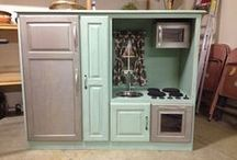 Play kitchen / by Ericka
