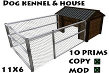 Home made dog kennels