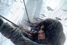 """Tomb Raider / ,,I'm running because I can, because I must."""""""