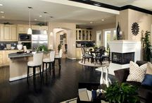 Kitchen and entertaining spaces