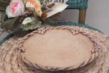 plates / plates ceramics