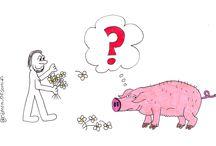 #VTexpresiones / Comparte dibujos que ilustren literalmente expresiones populares.
