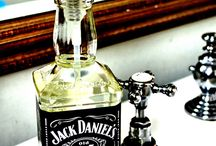 Liquor bottle crafts