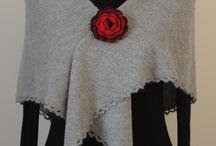 Shawl knitting alpaca scarf / Shawl, scarf, woman, yarn 100 alpaca, knittig , winter, natural and biologic, crochet edge, high quality