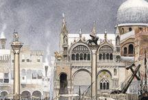 DI CITTA' IN CITTA' / alla ricerca di luoghi illustrati  Mostra di illustrazioni tenutasi dal 15 al 28 febbraio in VEZ