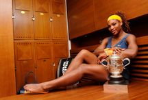 SERENA WILLIAMS WINS FRENCH OPEN 2013 TITLE LOOKING FAB
