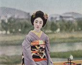 Japanese Antique kimono pictures / Japanese antique kimono pictures
