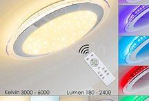 LED Deckenleuchten - Deckenlampen mit Farbwechsler