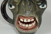 Cerapost / Handcrafted ceramic mugs