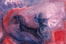 Greek mythology through my paintings / Artwork by Katerina Nikoloudi Mandila