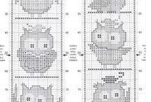 Wzory haft krzyżykowy