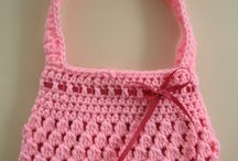 Crochet PURSES and POUCHES