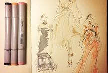 Fashion Sketches / drow