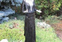 textil szobrok