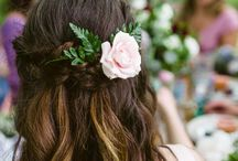 Bohemian Bride Hairstyle