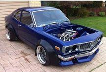 custom cars mazda rx3 1973