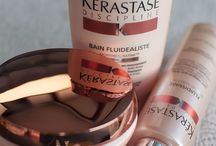 Kerastase Products / Kérastase is a luxury hair-care brand. The brand forms part of the professional products division of the multi-national parent company L'Oréal Group. This board features all Kerastase products that are available at Essence Salon.  Essence Salon www.EssenceSalon.com (650) 988-8822 826 West Dana Street Mountain View, CA 94041