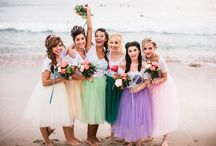 Bridesmaids / Pretty Skirts and Dresses for Your Bridal Party / by Dark Pony Designs