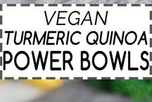 Vegan Bowls / Awesome vegan meals . . . served in a bowl.