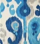 Outdoor Fabric - BLUE / by Modern Lantern