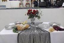 mesa de ceia