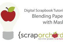 Digital Scrapbook Tutorials