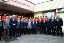 Samsunspor Kulübü ziyareti