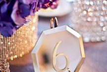 Events & Weddings - Table Numbers / by I-D BOHEMIA Lifestyle, Events and Interiors