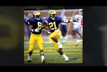 19 USD replica NCAA FootBall Michigan Wolverines 21 Desmond Howard Home And Away Game Jersey Wholesale