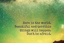 Be brave !