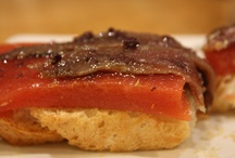 Tomatoes and anchovies