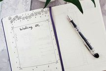 Journaling & Lettering / Inspiring Pages: Bullet journal, planner, notebook, calligraphy...