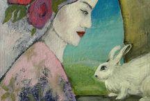 Małgorzata Wójcik paintings / Malarstwo sztuka  art paintings https://www.saatchiart.com/malgorzatawojcik