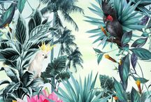 Wall Art TROPICAL DECOR