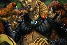 Swarm Queen // D'vorah / Bug Beautiful Woman