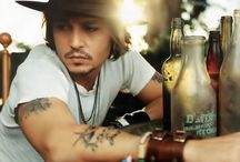 The Many Faces of, Johnny Depp / by Kevin Drucker