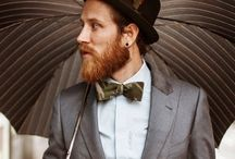 Bow tie fashion on the field. / Race days are perfect for fellas to sport a cheeky little bow tie. Melbourne Cup is the biggie! Guys can add bright, vibrant and quirky bow ties to their outfits. It's all about having fun and getting noticed.