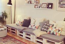 παλέτες καναπές