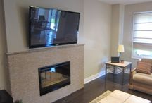 Fireplace Ideas / Example Fireplace renovation ideas by New Way Contractors. New Way Contractors is a Home Renovations and Improvement General Contractor based out of Toronto, Ontario.