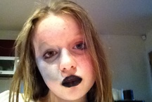 Too much makeup / Rockchic