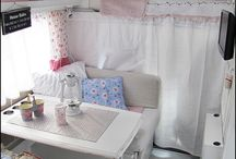 {{Vintage Camper Dream}} / I have a dream of some day using a vintage camper as a craft studio...... :)