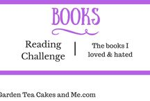 Books Shelf Reading Challenge / My Reading Challenge and wishSt of books to read